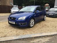 2006 56 FORD FOCUS ST-3 BLUE 2.5 225BHP ST ..... P/X WELCOME