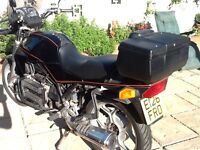 BMW triple..K75....very reliable.......super smooth....