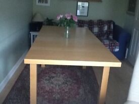 Solid wood M &S dining table