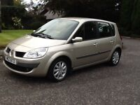 2007 Renault Scenic low miles great condition