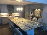 New Year Offer ! Cosmic White Granite Kitchen Worktop in UK