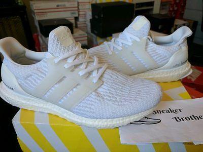 Adidas Ultra Boost Triple White 3.0 Ebay