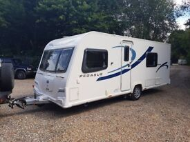 2014 Bailey Pegasus Verona 4 Berth caravan FIXED BED, MOTOR MOVER, Bargain !