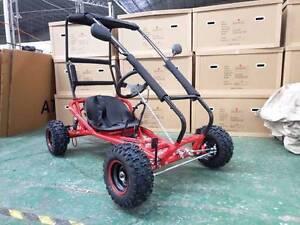 ZUMA SIZZLER 196cc 4 stroke Fun Kart with Roll Cage