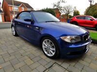2009 BMW 118D M SPORT CONVERTIBLE full heated leather