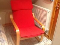 Ikea Poang large chair