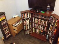 DVD Collection + Cabinets