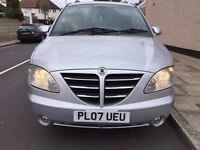 Ssangyong Rodius 2.7 TD SX MPV 5dr Diesel Manual, Mercedes Engine.