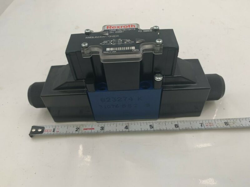 Rexroth Hydraulic Valve Model: R978019413 4WE6J62/EW110N9DA