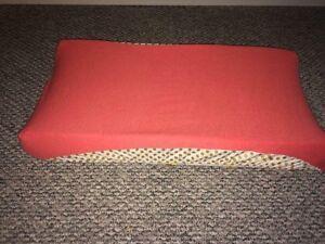 Custom made change pad cover