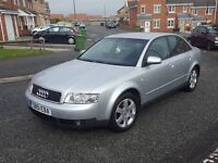 2002 audi a4 1.9 tdi (pd) se full service history 12 mths mot bullet proof car