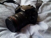 Canon 400 D Digital Camera + Sigma 18-200 mm 1:3.5-6.3 DC + Charger + 2x battery + 8 GB memory card