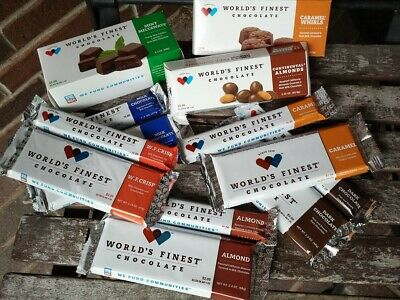 World's Finest Chocolate - Pick Your Own Mix Assortment - 6 Full Size -