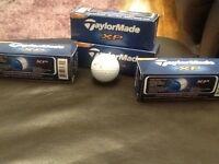 Dozen taylormade golf balls