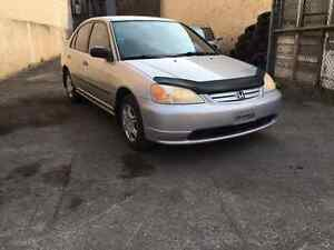 HONDA CIVIC 2001 **CLEAN & NEGO**