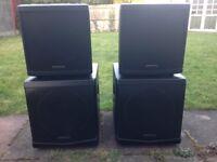 Denon Axis 12 (DAP DLM-12) Active DJ speaker Set (4000 watts RMS)