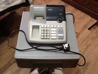 Till cash register Casio 160cr -b