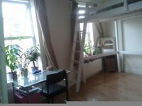 Twin / double room to share with a girl near Hammersmith
