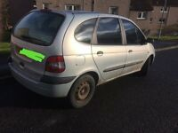 02 plate Renault scenic 1.9dti for sale or swap