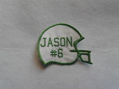 Нашивки Football Helmet Custom Embroidered Name