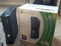 Microsoft Xbox 360 4GB Black console