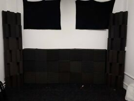 Acoustic Foam Treatment (Bass Traps & Tiles)