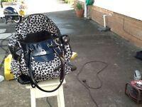 Leopard print Shopping Bag , also a Shopping Trolly