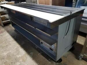 7 ft Refrigerated salad prep table