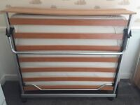 Jay-be foldaway 4ft double bed hardly used. Great space saver