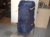Some new but most just lightly used quality,branded 50 upto 85litre rucksacks from £35 upto £45 each