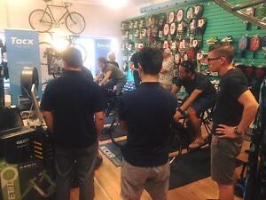 Indoor Bike Trainer Demo Event! Tacx, Wahoo, Kinetic & Cyclops!