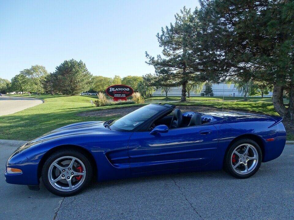 2003 Blue Chevrolet Corvette Convertible  | C5 Corvette Photo 1