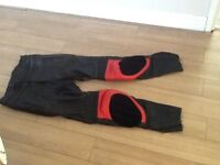 Good condition leather trousers