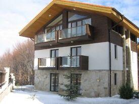 Ski chalet in Borovets, Bulgaria. Sleeps 11 in 4 bedrooms.