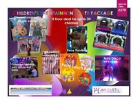 Children's Party Entertainment Package