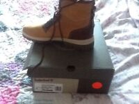 Timberland boots size 8.5 brand new in box