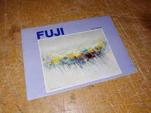 Vintage Fuji No.8 Edition Bicycle Brochure or Catalog