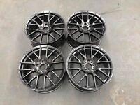 19″ M359 1M Style Wheels – Gloss Gun Metal – BMW – E90/E91/E92/E93 F30/F31/F32/F33 BRAND NEW