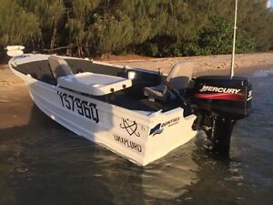 4.4m Quintrex hull / 2012 30hp merc (low hours) Holland Park West Brisbane South West Preview