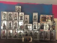 Marvel hand painted figures plus pop figures for sale
