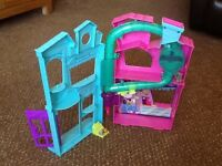 Littlest pet shop houses and figures