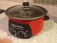 Chef o matic cooking pot.