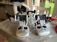 Dji inspire 1 with 6 battery drone