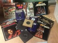 Motown singles and Lps