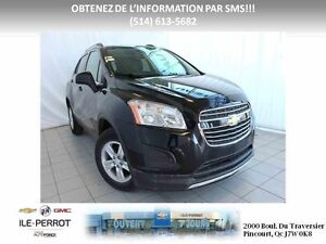 2016 Chevrolet TRAX AWD LT CROSSOVER TOIT OUVRANT, AWD, TURBO