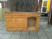 *New Large Dog Kennel with Porch* (Box, Run, House, Bed, Heavy Duty Timber)