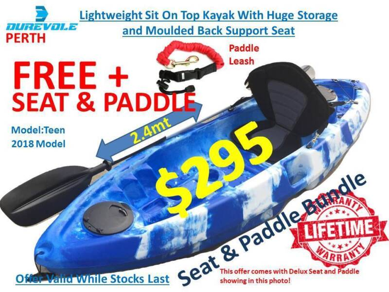 Kayak 2018 Lightweight Single Person Sit On Top Kayak Henderson