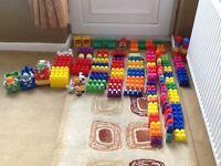 Mega Blocks Building Set