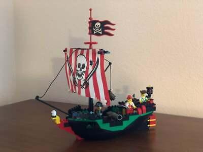LEGO System #6250 Pirates Cross Bone Clipper (Vintage 1997), Complete NICE!