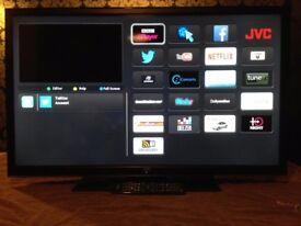 40 inch jvc smart led tv